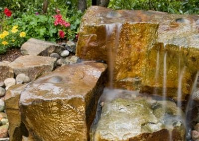 Rock Water Feature NKY Landscape Design